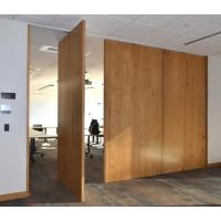 Interior Removable Sliding Folding Partition Acoustic Room Dividers Easy To Operate