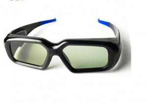 China Blue color Global universal 3D active shutter Glasses with Blu ray players for 3D HD TV on sale