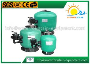 China Fibreglass Sand Swimming Pool Filter Side Mount Bobbin Wound With Multiport Valve on sale