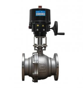 Quality Angular Travel Electric Ball Valve ,Control Style On Off Or Modulating Motor for sale