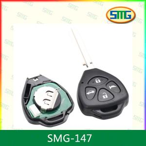China Metal Universal Remote Control For Garage Door Car Key Style SMG-147 on sale