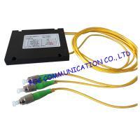 FBT Optical Fibre Coupler 1 × 2  , FC / APC Singlemode coupler Various Coupling Ratio