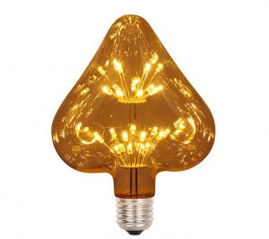 China Love Sky Star Led  	Decorative Filament Bulbs 1.5w E27 Edison Bulb on sale