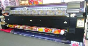 China Large Format Dye Sublimation Fabric Printer Cmyk Color For Transfer Paper on sale