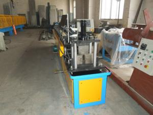 China Gcr15 Steel Stud And Track Roll Forming Machine / Metal Roll Former 5.5KW on sale