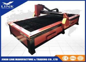 China Aluminum Galvanized High Definition Plasma Cutting Machine DSP Controller Sawtooth Table on sale