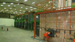 China Plastics pyrolysis and refine machine on sale