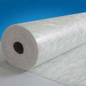 China E-glass fiber chopped strand mat of emulsion binder for composition on sale