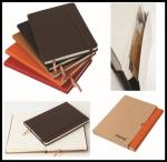 China hot sale leather cover Cheap Custom Notebook/school exercise books/diary wholesale