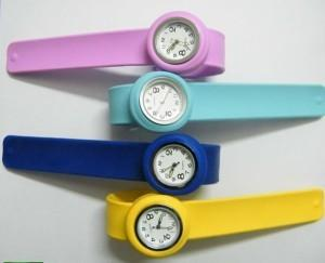 China Slap Rubber Watches Wholesale and Sales Promotion on sale