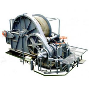 China Mooring winch for offshore oil platform hydraulic marine windlass on sale