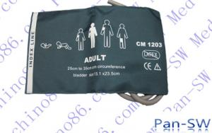 China Adult dual tube Non-invasive Blood pressure cuff on sale