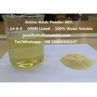 Compound Amino Acids Powder 80% 70% 60% 52% 50% 45% 40% Organic Fertilizer, 14-0-0, OMRI Listed