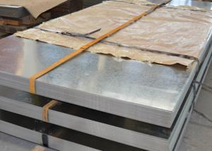 China HDGI Galvanized Metal Sheets , Thick 0.2 - 2.0mm Zinc Coated Steel Sheet on sale