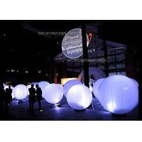 Sphere Inflatable Lighting Decoration LED , Colorful Intelligent Event Decoration Lighting