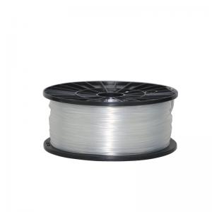 China Light Gray 3D Printer ABS Filament Roll , 1.75mm Extruding Plastic Filament on sale