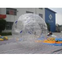High Durability Customers design 0.9mm PVC Inflatable Zorb Balls for Amusement park
