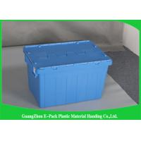 Durable Packaging Strong Plastic Storage Boxes , Storage Bins With Lids Food Grade