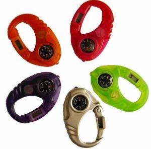 China Digital Image Sport Watch , Unisex Plastic Watches With Compass on sale