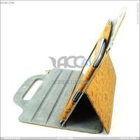 China Portable and Back hanging The little evil female Stand Leather case for iPAD 2 on sale