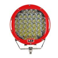 9 inch Led work light with 111Watt , 37pcs*3w high intensity CREE LEDS, Black, Red, Bule, Yellow Body color for choose