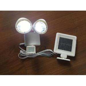 China PIR Passive Infrared Solar Powered LED Flood Lights For Garden / Park on sale