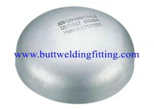 China Butt Weld Pipe Cap Stainless Steel Pipe Cap Incoloy 800 / WPNIC , Incoloy 825 / WPNICMC on sale