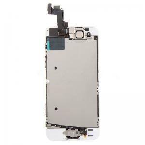 China For OEM iPhone 5S LCD Replacement Touch Screen Digitizer with Home Button - White - Grade A- on sale