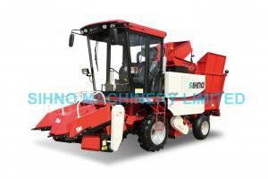China 4YZP-2C Peeled waxy corn harvester for harvesting maize on sale