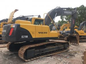 China Year 2016 Used Volvo Excavator 21 Ton , Second hand crawler EC210BLC  track excavator Equipment?93% UC on sale