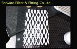 304L Stainless Steel Expanded Metal Mesh , PVC Coated Diamond Wire Mesh