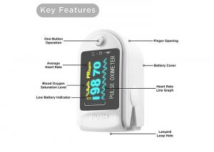 China FPX -013 Finger Pulse Oximeter , Accurate SpO2 Sensor 64K Color OLED Display on sale