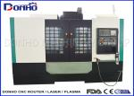 Professional 3 Axis Auto Tool Changer CNC Router Milling Machine For Light alloy processing