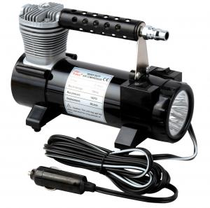 China 2 In 1 Portable Metal Single Cylinder Air Compressor With Light  / Bag And Hose on sale