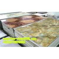 PVC imitation marble sheet three roller calender laminating and extruder machine