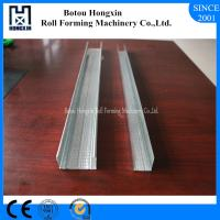 China Steel Light Keel Roll Forming Machine CE Stud Track Roll Forming Machine on sale