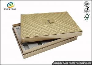 China Folding Cardboard Gift Boxes Charming Silver Printing / Decorative Paper Boxes on sale
