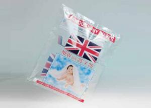 China Flexible Clear Personalized Baby Diaper Bags Plastic Pouches Packaging , 2 layer compound bag on sale