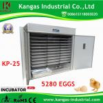 China (KP-25) 2017 Best Selling 5280 Chicken Eggs Incubators for Sale wholesale