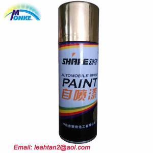 China 400ml MSDS Aerosol Spray Paint on sale