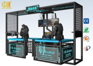 China Gun Shooting Virtual Reality Brother 9D VR Machine With Two HD Display Screens on sale