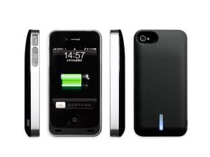 China black / blue / red1700mAh matte iphone 4 extended battery case for iphone 4&4s- IP17F-C on sale