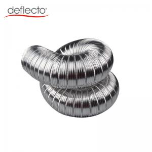 China Fireproof Round Semi Rigid Aluminum Duct 20 Inch Big Aluminum Ducting For Air Conditioning on sale
