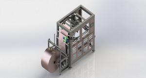 China Heating Seal FFS Packaging Machine For Small Plastic Pellet And PVC Powder Packing on sale