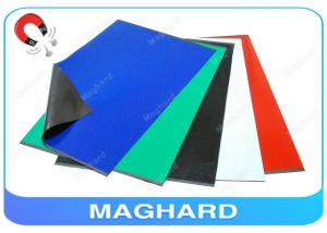 Self Adhesive Rubber Magnet Sheets Colorful , Fridge Magnetic Rubber ...
