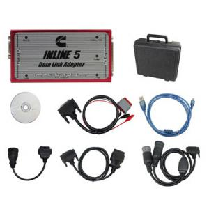 China Cummins Inline 5 Insite 7.62 For Cummins Engine Diagnosis tool With Multi Languages SAE J1708/J1587 and J1939/CAN on sale