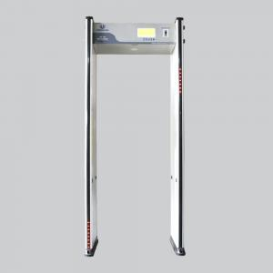 China Easy Assembly Body Walk Through Metal Detectors Muilt Zones With 5.7'' LCD Screen on sale