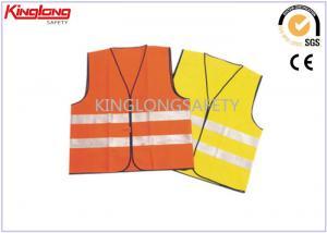 China Hi Vis Traffic Roadway Warning Reflective Safety Vest With CE EN20471 on sale