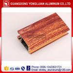 China Wood grain printing window and door aluminium profile China top manufacturer wholesale