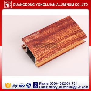 China Wood grain printing window and door aluminium profile China top manufacturer on sale